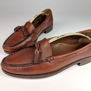 Allen Edmunds Naples Leather Loafers Men's 9.5